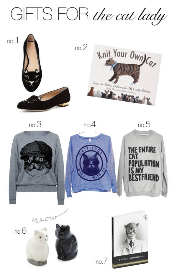 Cat Lady Gift Guide