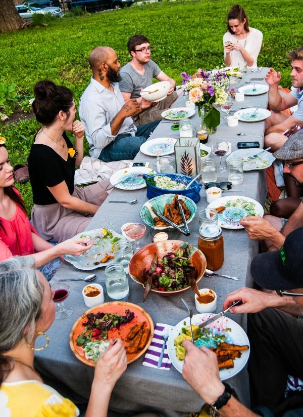 Dinner in the Garden 4
