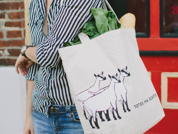Totes Ma Goats West Elm Tote 1