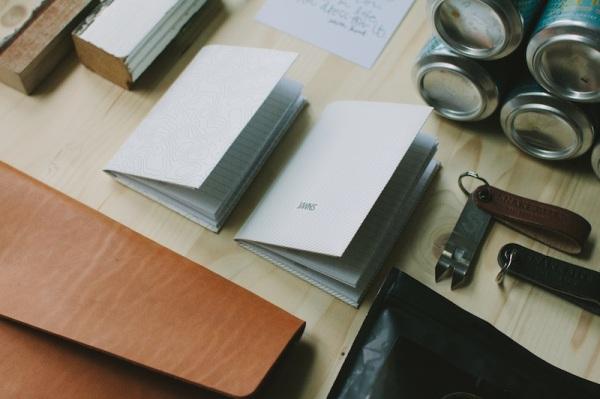 JAWNS Brand Notebook Wallet